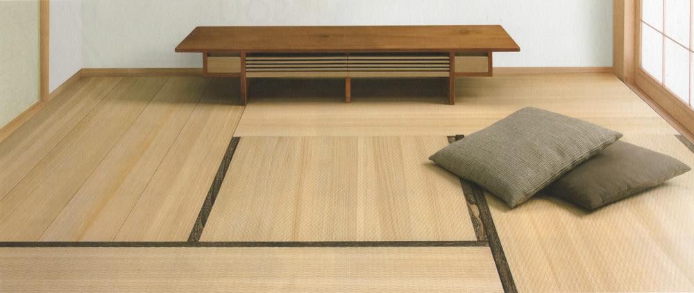 羊毛桐材を使用した桐の畳